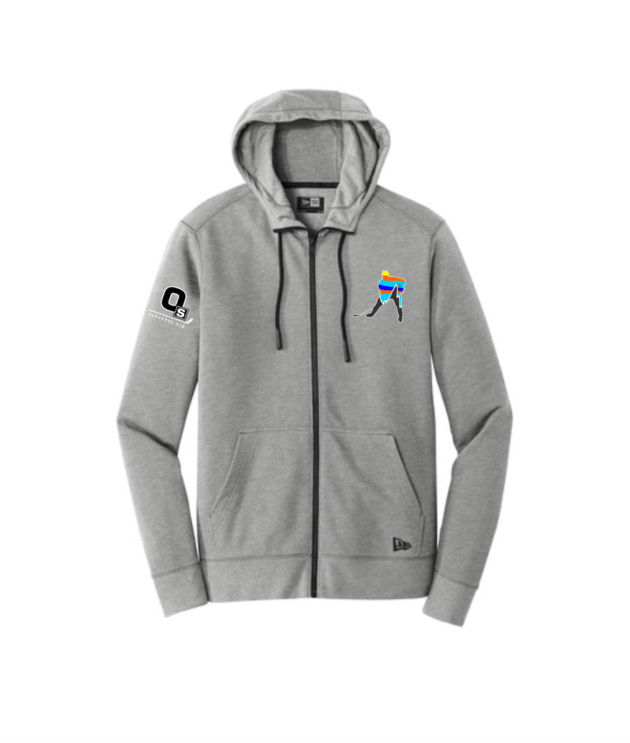 OS Hockey New Era® Tri-Blend Fleece Full-Zip Hoodie